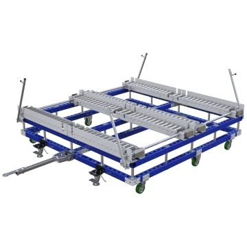 Roller Pallet Cart - 2170 x 2170 mm