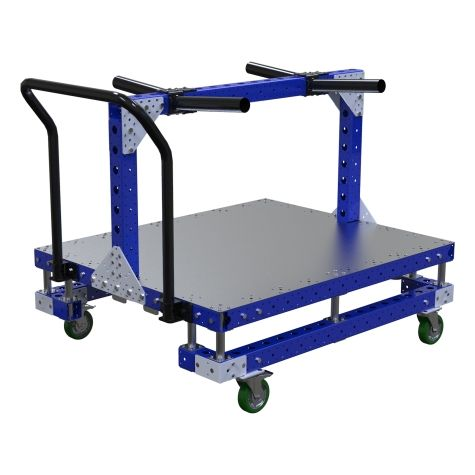Cart w. Hangers –1050 x 1260 mm