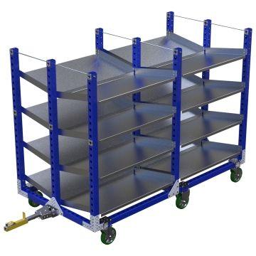 Flow Shelf Cart - 910 x 2310 mm