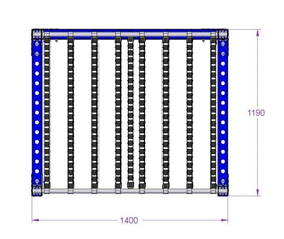 Flow Rack - 1400 x 1190 mm