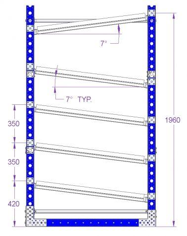 Flow Rack - 1610 x 1190 mm