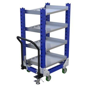Flow Shelf Cart - 630 x 770 mm