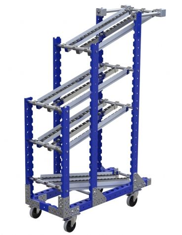 Flow rack - 1190 x 490 mm