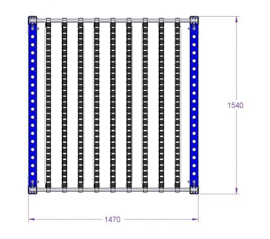 Flow Rack - 1470 x 1540 mm