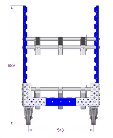 Flow Rack - 2310 x 630 mm