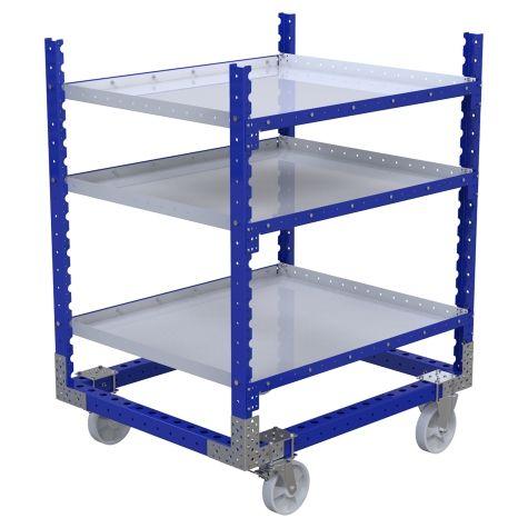 Flat Shelf Cart - 1260 x 1050