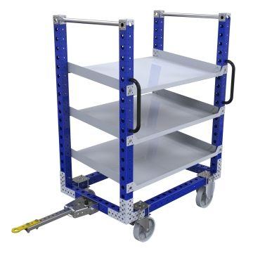 Flow Shelf Tugger Cart – 1190 x 770 mm