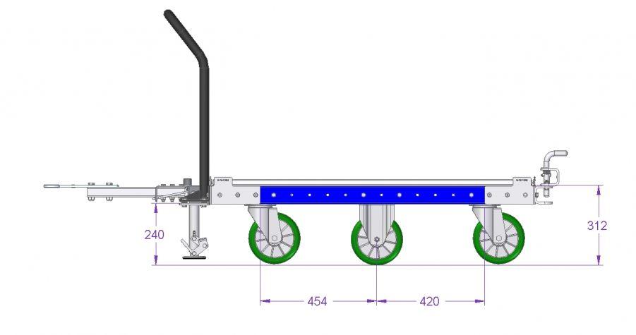 Tugger Cart - 1260 x 1050 mm