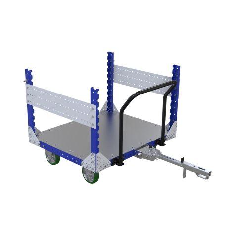Metal frame cart - 1190 x 980 mm