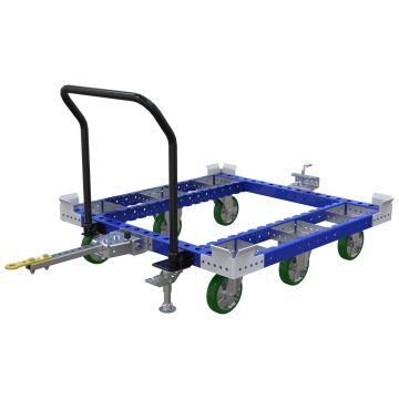 Pallet Tugger Cart - 1260 x 1260 mm
