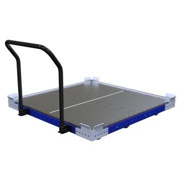 Low Rider Flat Deck Push Cart - 1260 x 1260 mm
