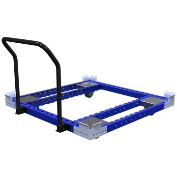 Low Rider Pallet Push Cart - 1260 x 1260 mm