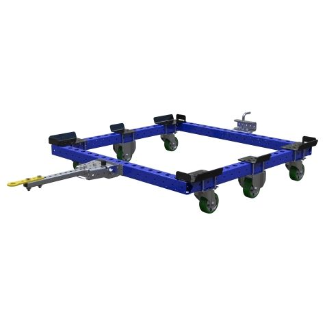 Low Rider Tugger Pallet Cart - 1260 x 1260 mm