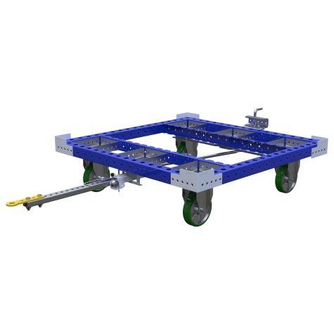 Pallet Tugger Cart Q.S - 1260 x 1260 mm
