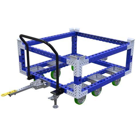 Raised Tugger Pallet Cart - 1260 x 1260 mm