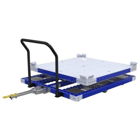 Rotating Pallet Push/Tugger Cart - 1260 x 1260 mm
