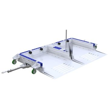Mother Cart 2 in 1 - 2310 x 980 mm