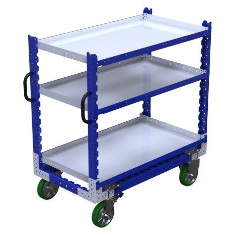 Flat Shelf Cart – 700 x 1260 mm