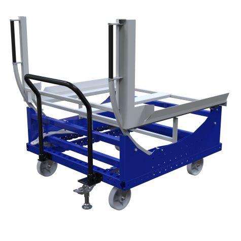 Tilting Pallet Push Cart - 1260 x 1260 mm