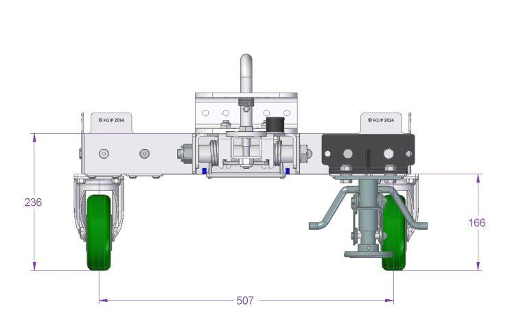 Tugger Cart - 910 x 560 mm