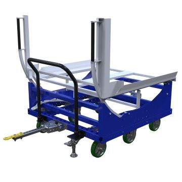 Tilting Pallet Tugger Cart - 1260 x 1260 mm