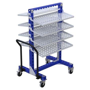 Flow Shelf Cart – 770 x 910 mm