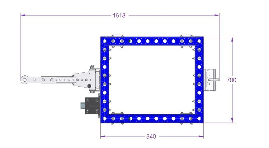 Tugger Cart - 840 x 770 mm