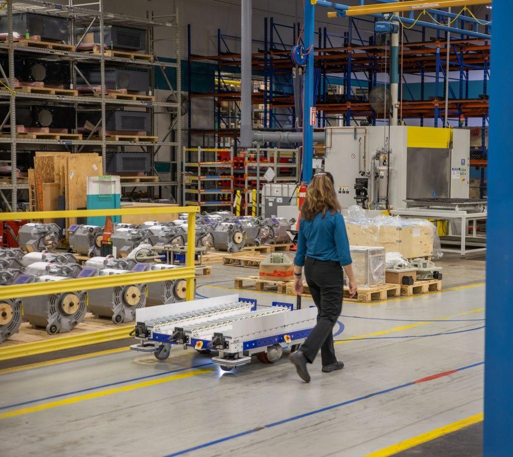 FlexQube eQart at Siemens