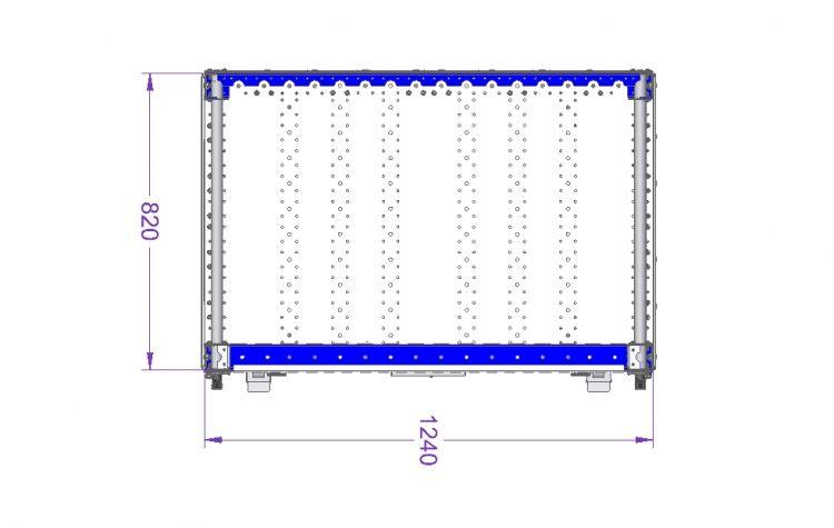 Bin Cart - 1240 x 820 mm