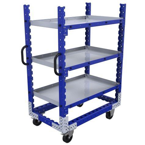 Flat Shelf Cart – 1050 x 630 mm