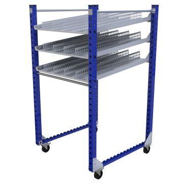 Flow Shelf Cart – 1260 x 1190 mm