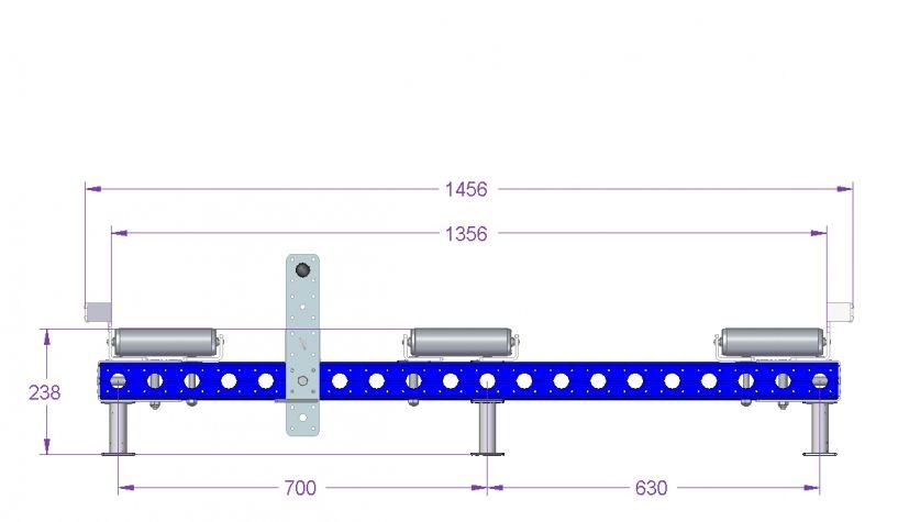 Roller Rack - 1400 x 1190 mm