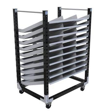 Flow Shelf Cart – 1470 x 1050 mm