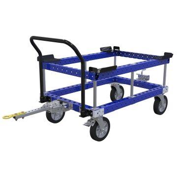 Carro remolcador de palés - 1260 x 840 mm