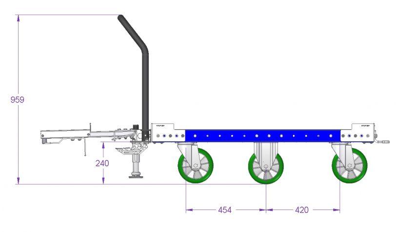 Tugger Cart - 1260 x 840 mm