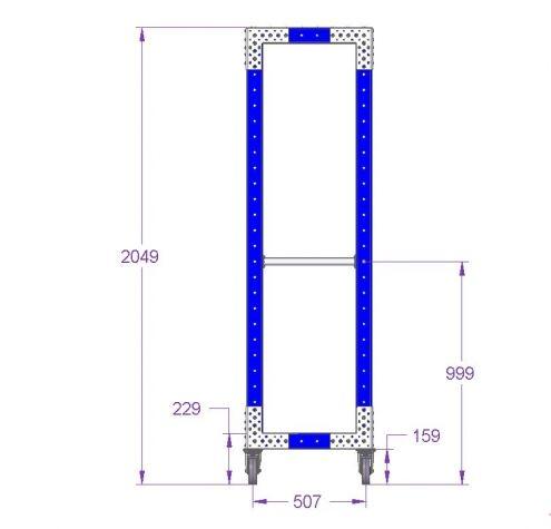 Rack Cart - 1050 x 560 mm