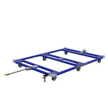 Pallet Tugger Cart - 3220 x 2310 mm