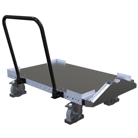 Flat Deck Pallet Cart - 1260 x 840 mm