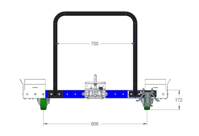 Tugger Cart - 1470 x 1260 mm