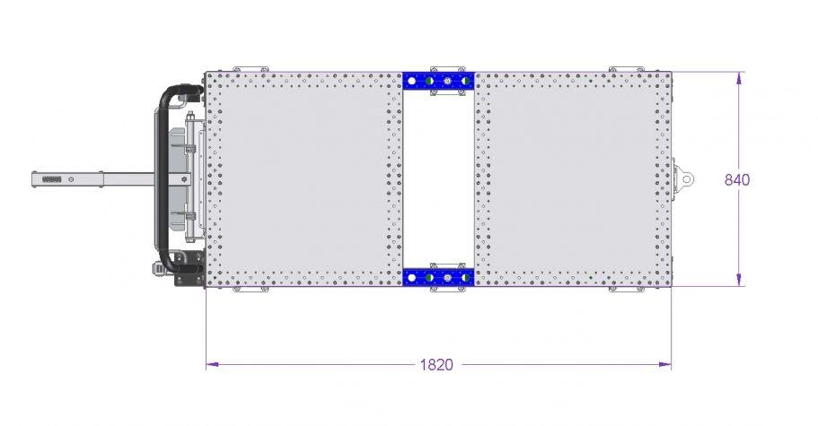 Tugger Kit Cart - 1820 x 840 mm