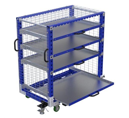 Extendable Shelf Cart - 1400 x 840 mm