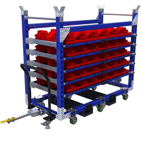Extendable Shelf Cart - 1890x840 mm