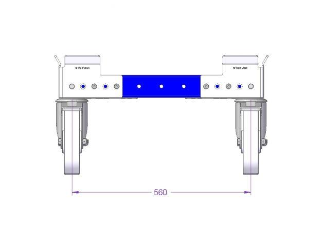 Pallet Cart - 1050 x 630 mm