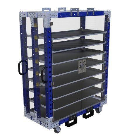 Flip-Up Shelf Cart – 1400 x 630 mm