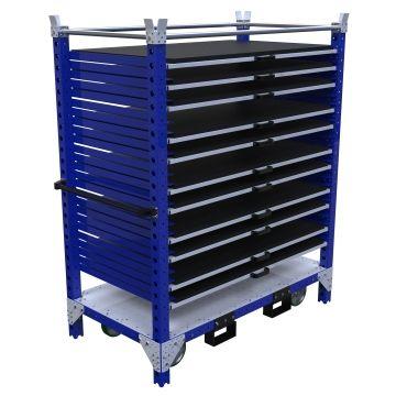 Relocatable Shelf Cart – 1680 x 910 mm