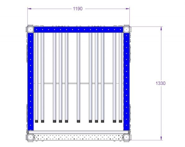 Rack For Bases - 1330 x 1190 mm