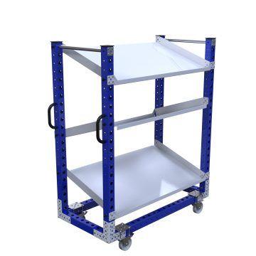 Flow Shelf Cart - 1400 x 700 mm