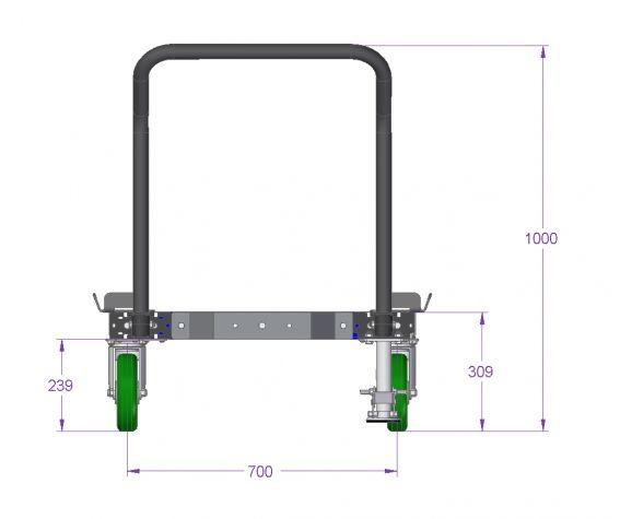 Pallet Cart - 770 x 840 mm