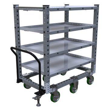 Flat Shelf Cart – 1400 x 840 mm