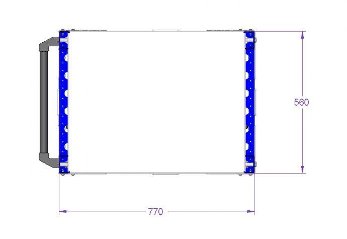 Shelf cart - 560 x 770 mm